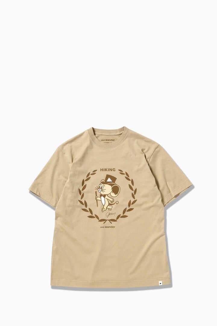 JERRY T by JERRY UKAI Short Sleeve T-Shirt - Beige
