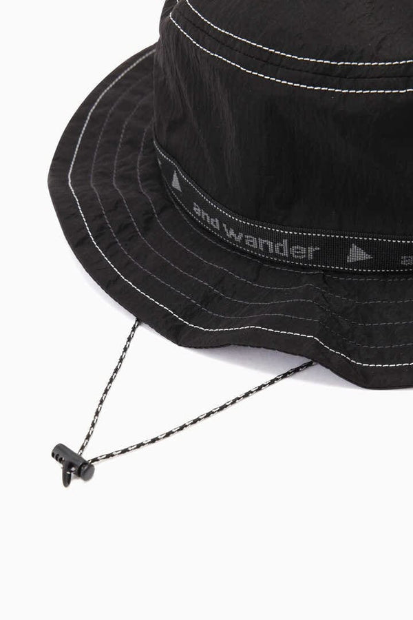 JQ Tape Hat - Black