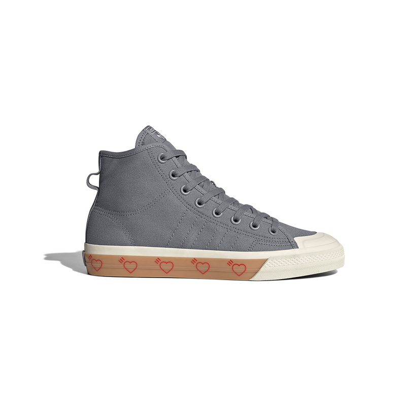 adidas x Human Made Nizza Hi - Grey Five