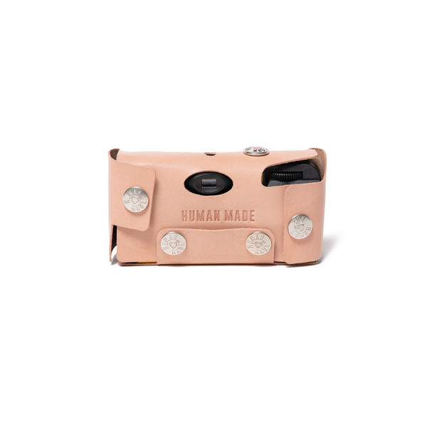 Leather Camera Case #K - Beige