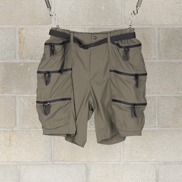 Container Shorts / Karu Stretch - Olive-alk phenix-SUPPLIES & COMPANY