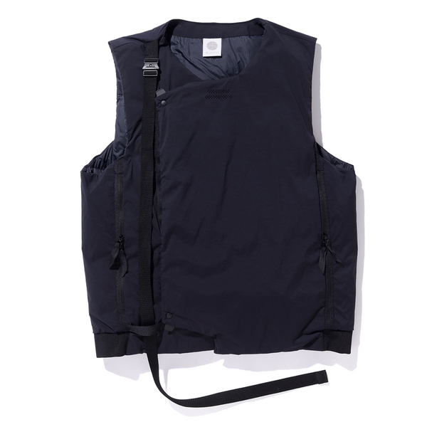 alk phenix Crank Vest 2 (Karu Stretch x DRYSPHERE DOWN) - Black SUPPLIES AND CO