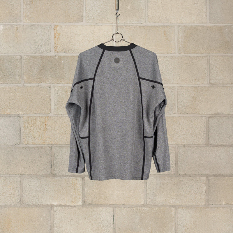 Orbit T-Shirt Long Sleeve / Technista 48 - Heather Grey-alk phenix-SUPPLIES & COMPANY