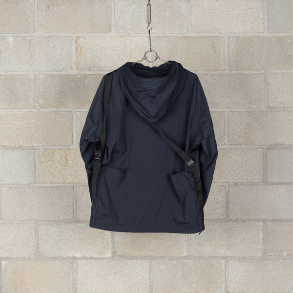 Tab Bag Parka / Karu Stretch - Black-alk phenix-SUPPLIES & COMPANY