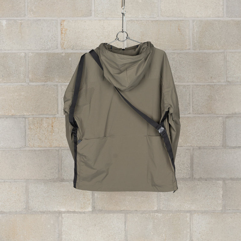 Tab Bag Parka / Karu Stretch - Olive-alk phenix-SUPPLIES & COMPANY