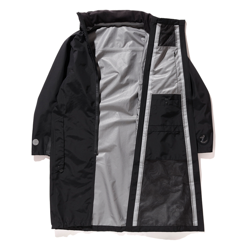 alk phenix Umbrella Coat (Breathatec) - Black SUPPLIES AND CO