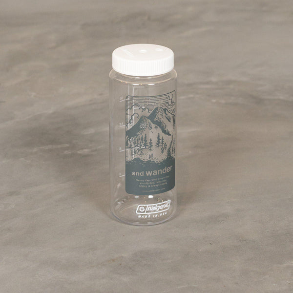 and wander Nalgene Bottle - Grey-and wander-SUPPLIES & COMPANY