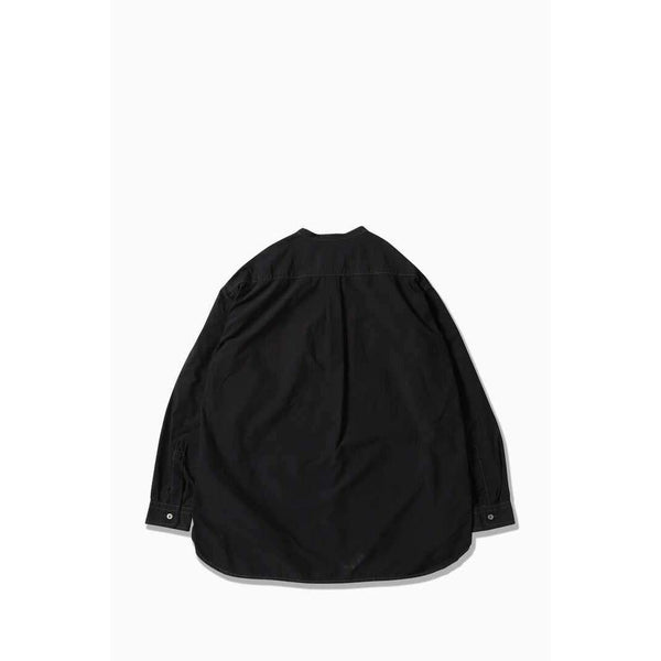 CORDURA Typewriter Band Collar Shirt - Black