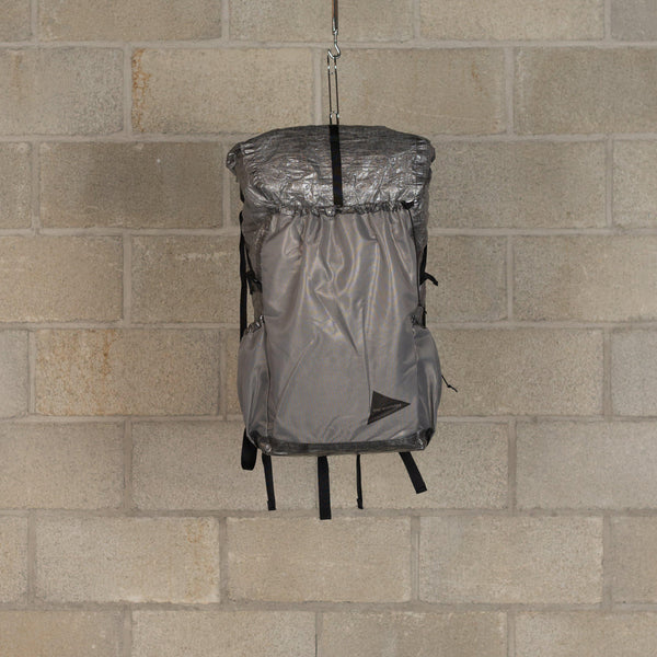 Cuben Fiber Backpack - Charcoal-and wander-SUPPLIES & COMPANY