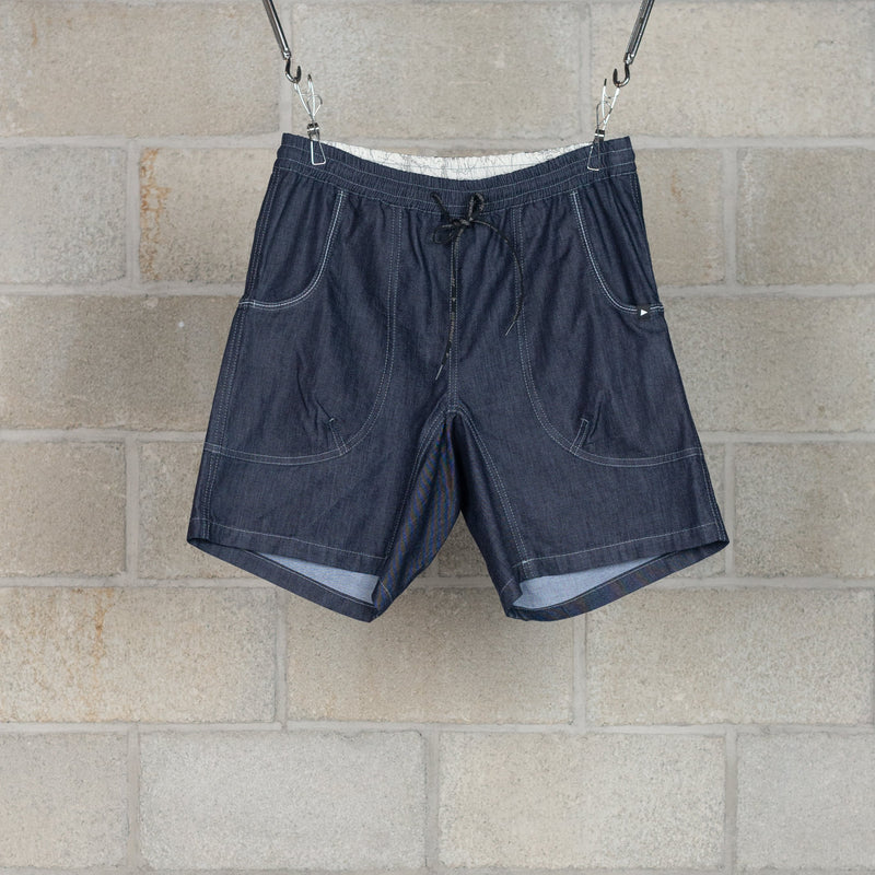 Dry Easy Denim Short Pants - Navy-and wander-SUPPLIES & COMPANY