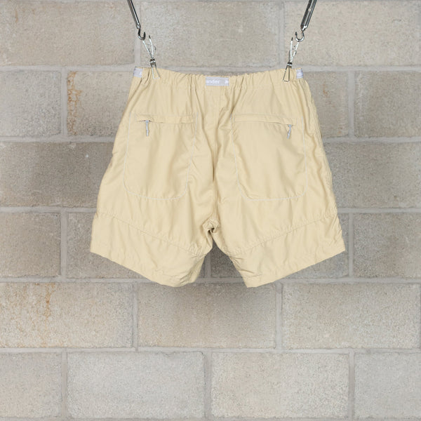 Nylon Climbing Short Pants - Beige-and wander-SUPPLIES & COMPANY