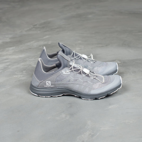 Reflective Mesh Sneaker by Salomon - Grey-and wander-SUPPLIES & COMPANY