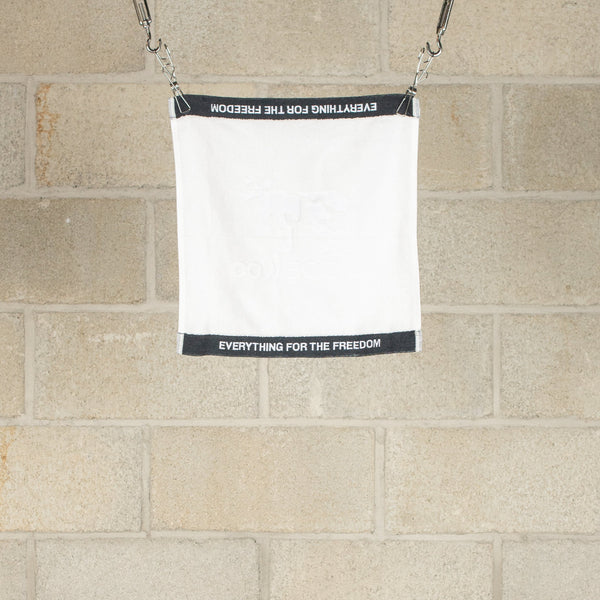 Hand Towel - White / Black-COW BOOKS-SUPPLIES & COMPANY