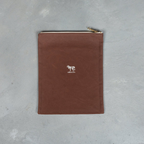 Pouch (M) - Brown-COW BOOKS-SUPPLIES & COMPANY