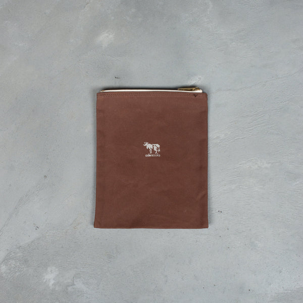 Pouch (S) - Brown-COW BOOKS-SUPPLIES & COMPANY