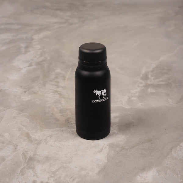 COW BOOKS Stainless Bottle - 320ml SUPPLIES AND CO