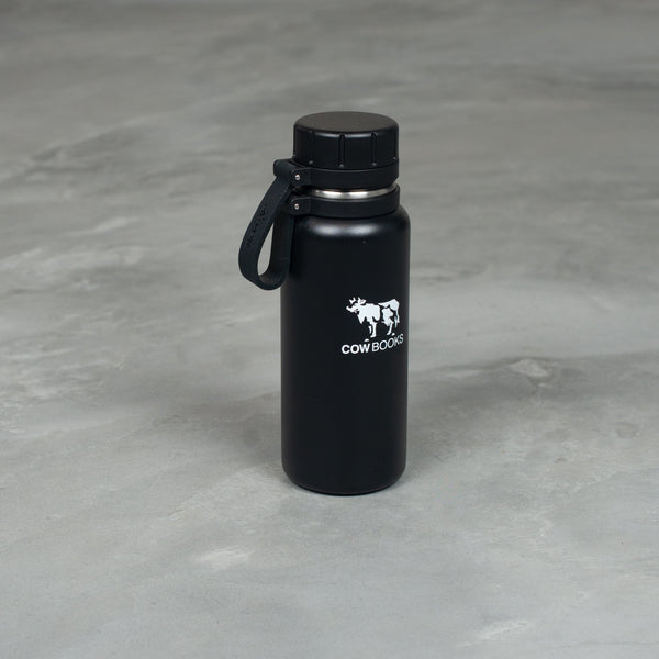 Stainless Bottle - Black-COW BOOKS-SUPPLIES & COMPANY