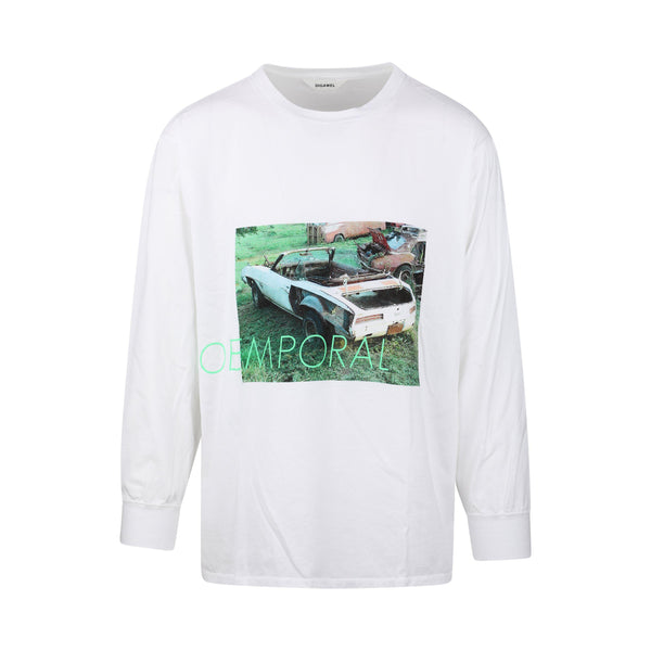 Digawel Car Print Long Sleeve T-Shirt SUPPLIES AND CO