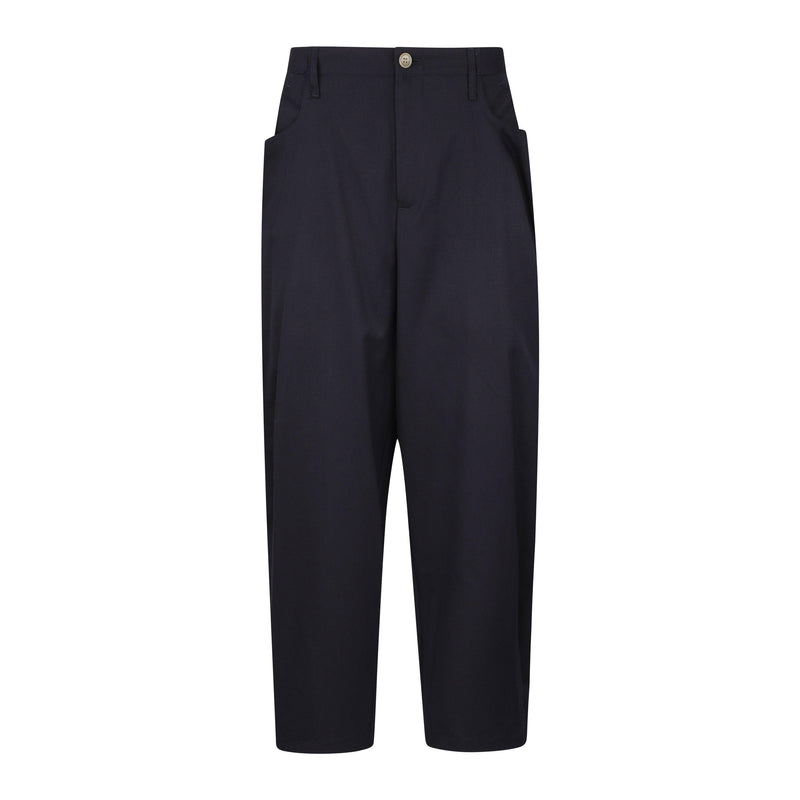Digawel Pintucked Wool Gabardine Pants SUPPLIES AND CO