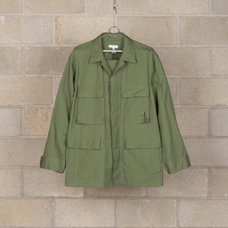 BDU Jacket - Olive Cotton Ripstop-Engineered Garments-SUPPLIES & COMPANY