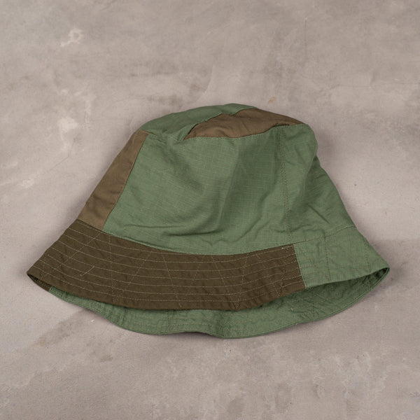 Engineered Garments Bucket Hat - Olive Cotton Ripstop SUPPLIES AND CO