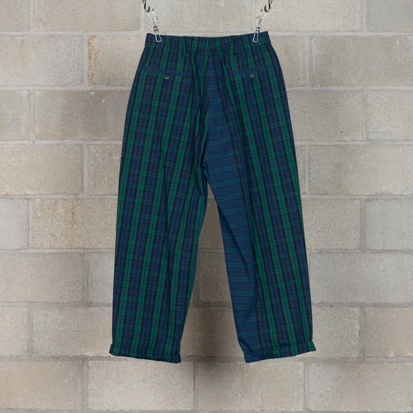 Emerson Pants - Blackwatch Big Repeat Madras-Engineered Garments-SUPPLIES & COMPANY