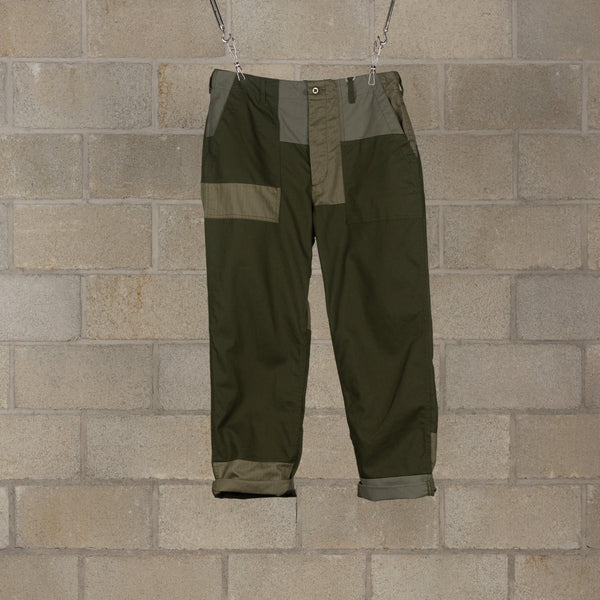 Engineered Garments Fatigue Pant - Olive Cotton Heavy Twill SUPPLIES AND CO