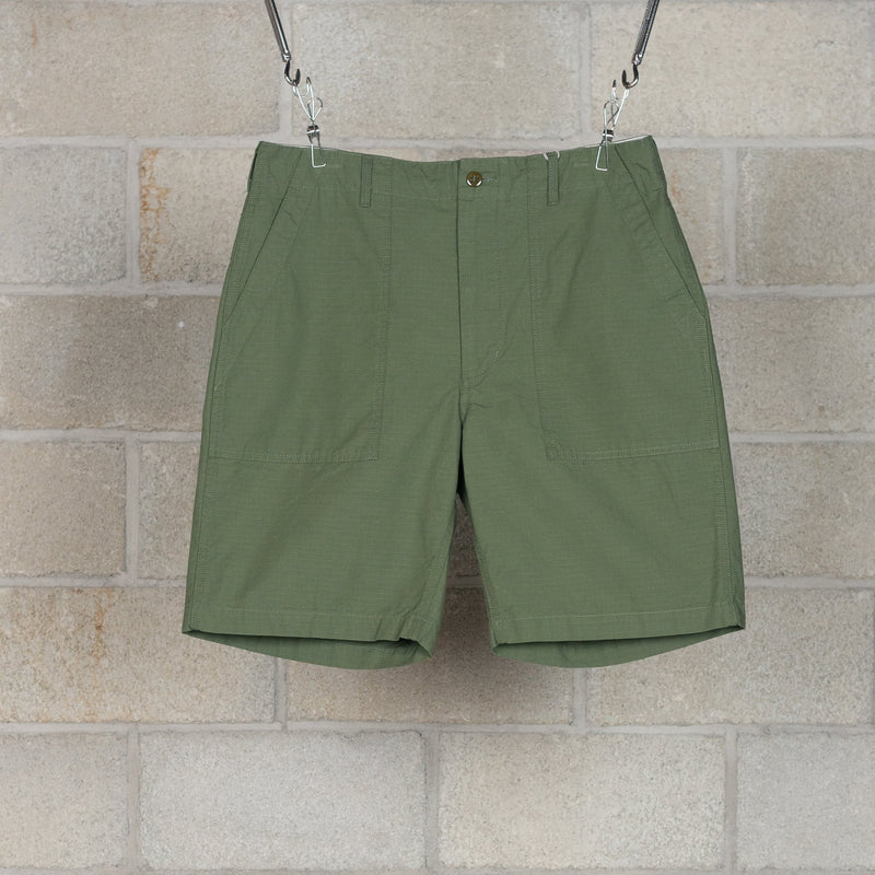 Fatigue Shorts - Olive Cotton Ripstop-Engineered Garments-SUPPLIES & COMPANY