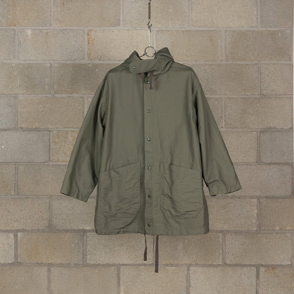 Engineered Garments Madison Parka - Olive Cotton Double Cloth SUPPLIES AND CO