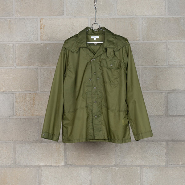 MC Shirt Jacket - Olive Nylon Micro Ripstop-Engineered Garments-SUPPLIES & COMPANY