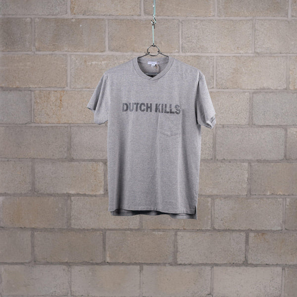 Engineered Garments Printed T-Shirt - Grey Dutchkills Print SUPPLIES AND CO
