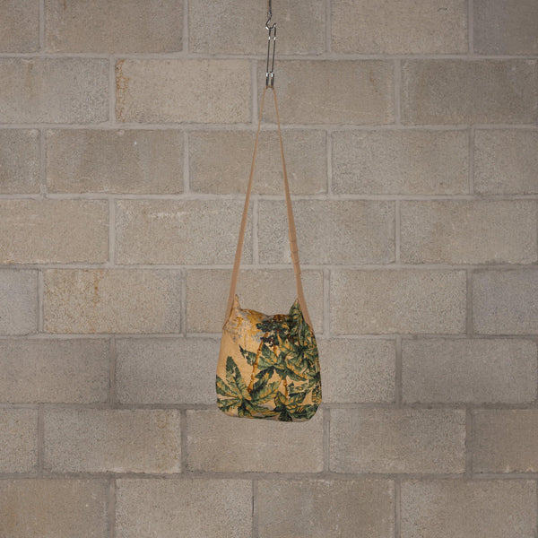 Engineered Garments Shoulder Pouch - Natural Palm Tree Linen Canvas SUPPLIES AND CO