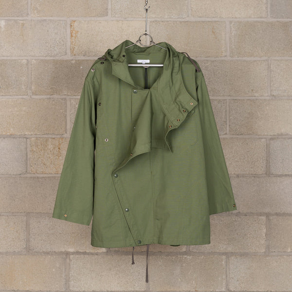 Sonor Shirt Jacket - Olive Cotton Ripstop-Engineered Garments-SUPPLIES & COMPANY