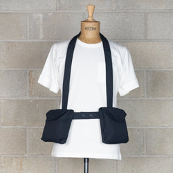 Waist Bag - Dark Navy PC Poplin-Engineered Garments-SUPPLIES & COMPANY