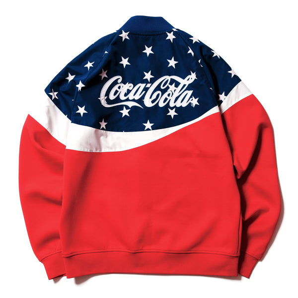Coca-Cola PDK Jacket - Red-F.C.Real Bristol-SUPPLIES & COMPANY