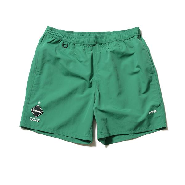 Nylon Easy Shorts - Green-F.C.Real Bristol-SUPPLIES & COMPANY