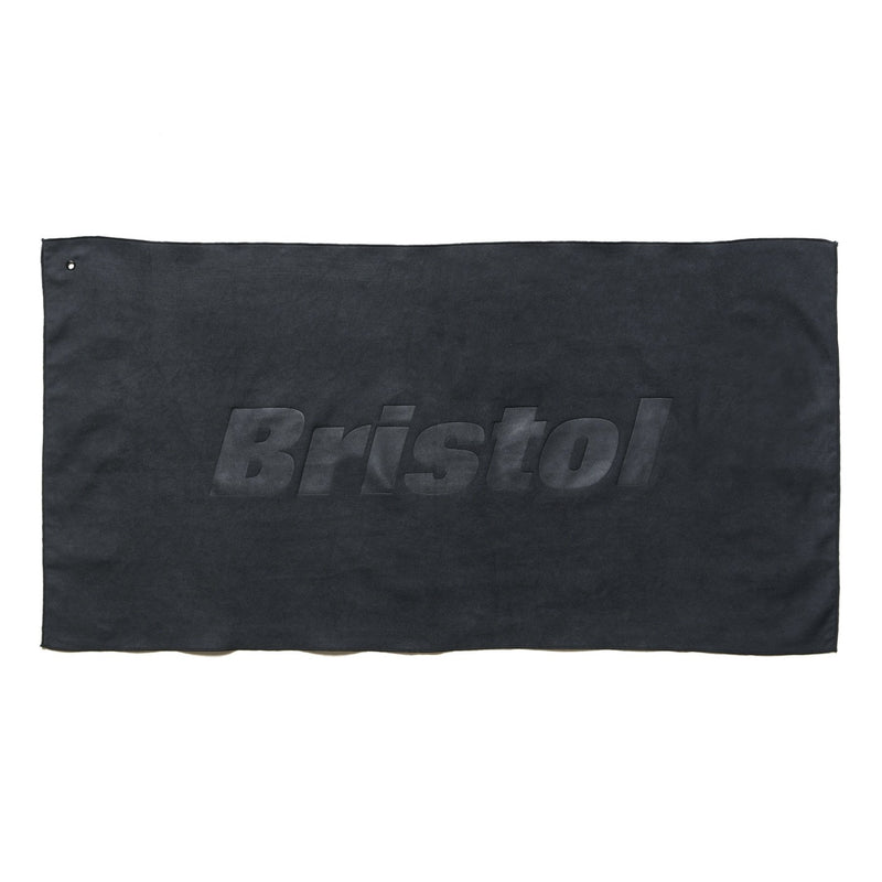 Quick Dry Towel - Black-F.C.Real Bristol-SUPPLIES & COMPANY
