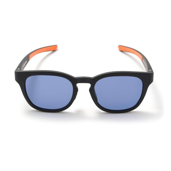 Square Sunglasses - Matte Black / Blue-F.C.Real Bristol-SUPPLIES & COMPANY