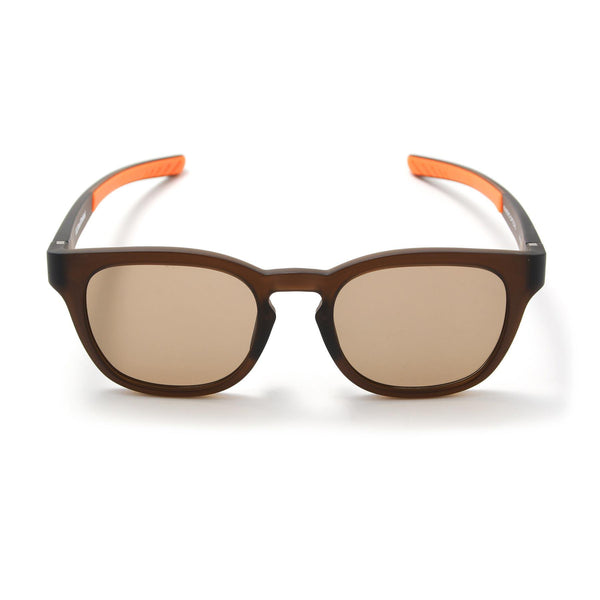 Square Sunglasses - Matte Light Brown / Brown-F.C.Real Bristol-SUPPLIES & COMPANY