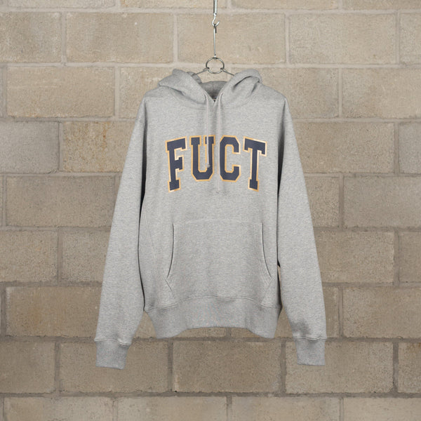 Academy Hoody - H.Grey-FUCT-SUPPLIES & COMPANY