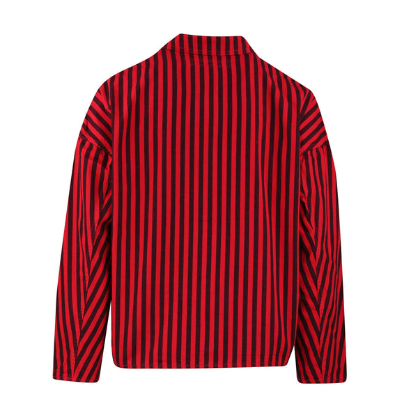 Gustav Von Aschenbach Striped Cotton Jacket SUPPLIES AND CO