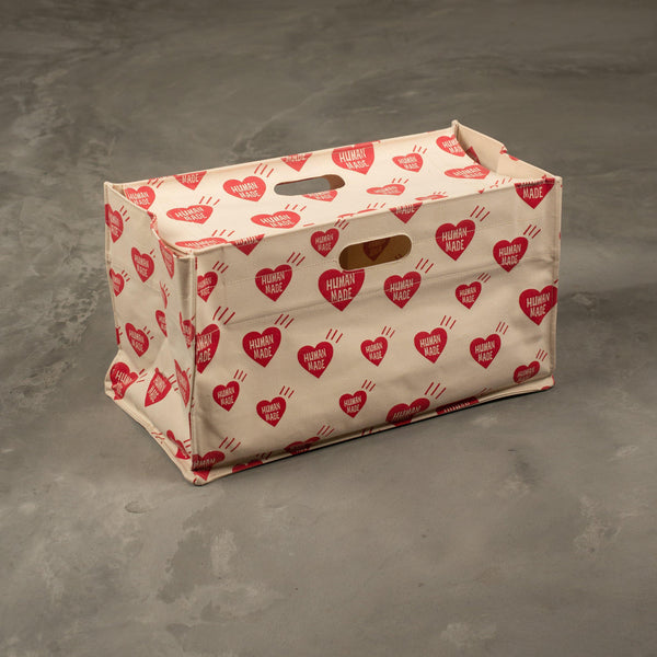 Human Made Heart Box Tote Bag SUPPLIES AND CO