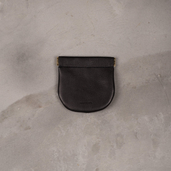 Hender Scheme Coin Purse (M) - Black SUPPLIES AND CO