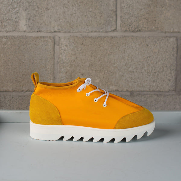 Hender Scheme Nylon Lace Shoes - Yellow SUPPLIES AND CO
