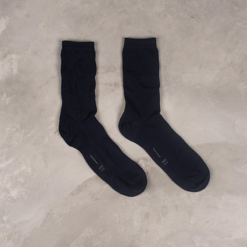 Hender Scheme Safe Socks - Navy SUPPLIES AND CO