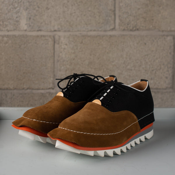 Hender Scheme Skirt Shoes- Black / Brown SUPPLIES AND CO