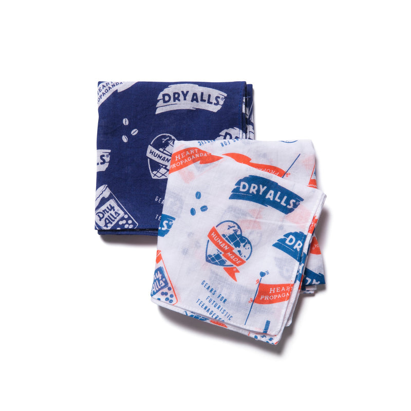 Bandana #01 - Navy-Human Made-SUPPLIES & COMPANY