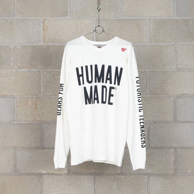 BMX Shirt - White-Human Made-SUPPLIES & COMPANY