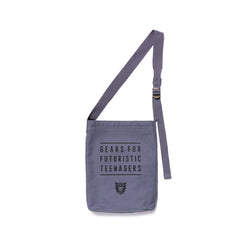 Canvas Shoulder Bag / Small - Grey-Human Made-SUPPLIES & COMPANY