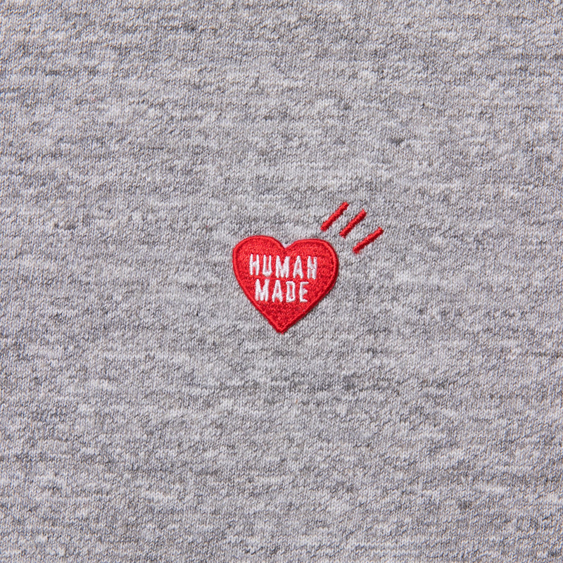 Heart One Point T-Shirt - Grey-Human Made-SUPPLIES & COMPANY